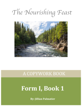 front cover form 1 book 1 copywork book