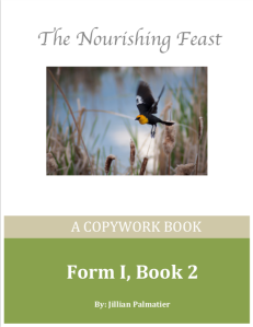 front cover form 1 book 2 copywork book